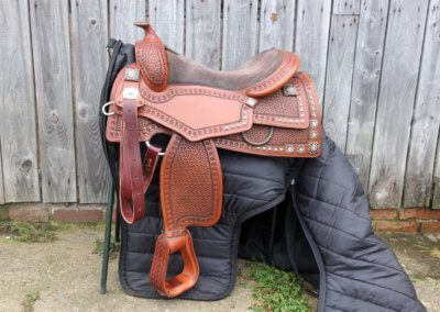 The Reining Authority Saddle For Sale