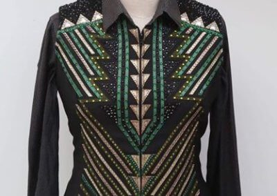 "Stunning ""Collection 33"" Show Vest"